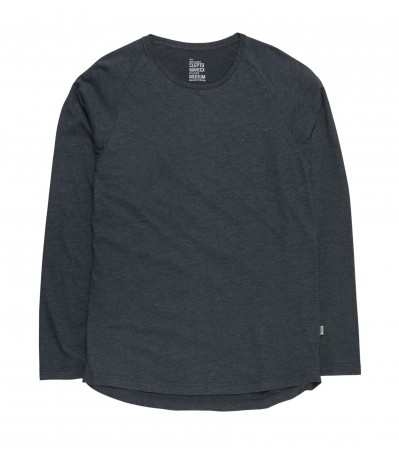 Ligull L/S T-Shirt heather black