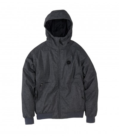 Polarzipper Hemp 2 Heather Dark Grey