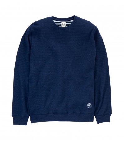 Woozer Crew heather dark navy