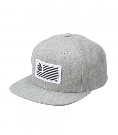 92 Flag Cap grey heather
