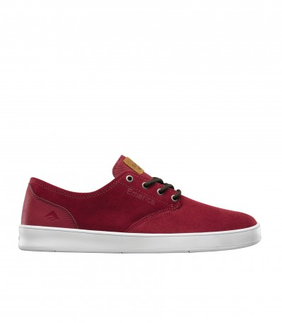 The Romero Laced burgundy