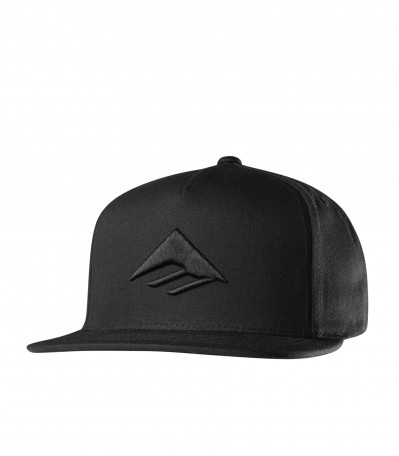 Triangle Snapback black
