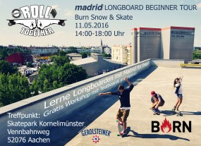Madrid Longboard Tour