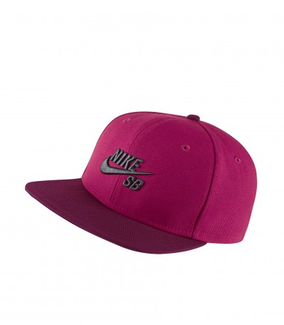 Icon Snapback dark fireberry