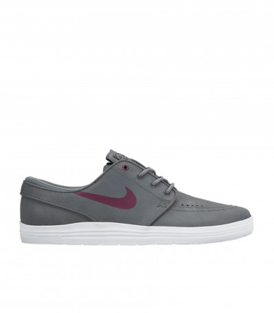 Lunar Stefan Janoski cool grey/villain red