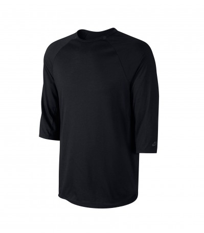 Skyline Dri-FIT Cool 3/4 Crew black