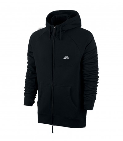 Nike Sb Everett Graphic FZ Hoodie Black/White