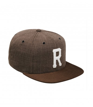 Homerun 6 Panel Brown Tweed
