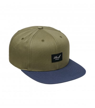 Pitchout 6 Panel Coffee Mud/Indigo