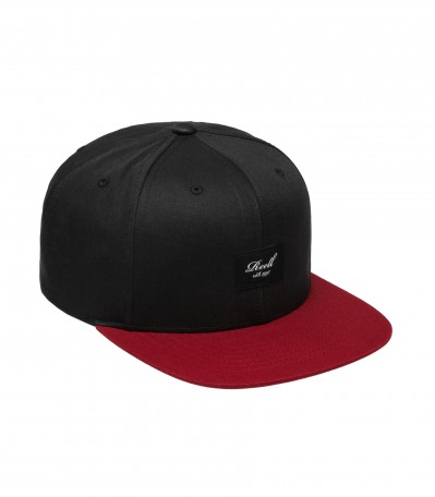 Pitchout 6 Panel Black Burgundy