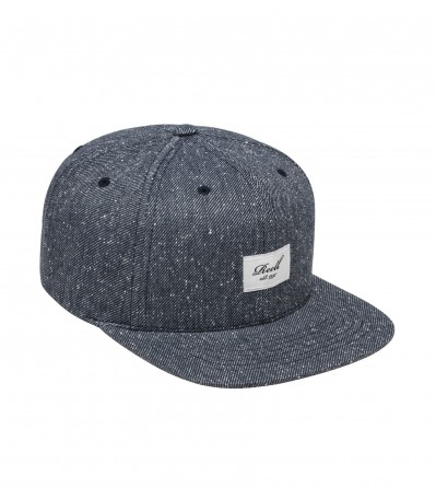 6 Panel Speckled Navy