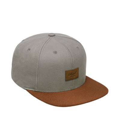 Suede 6 Panel Steel Grey