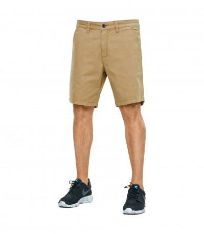 Flex Chino Short dark sand