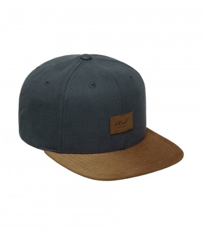 Suede 6 Panel charcoal