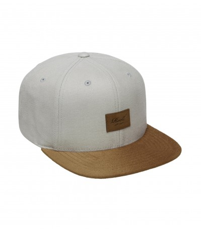 Suede 6 Panel ice grey