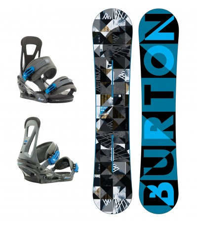 SET Clash 157WIDE + Burton Freestyle