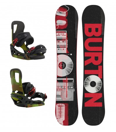SET Descendant 155WIDE + Burton Cartel EST
