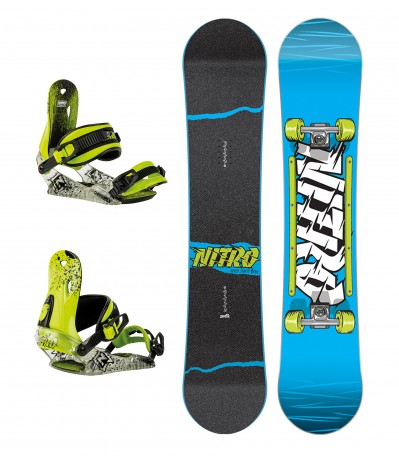 SET Ripper Youth 146WIDE + Charger