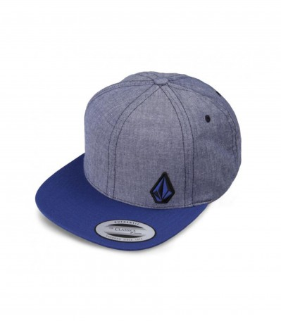 Upper Corner Hat matured blue
